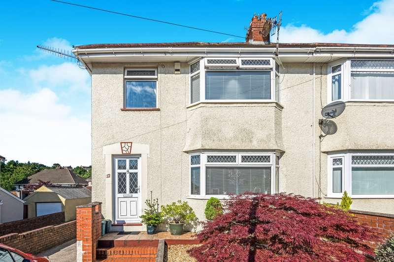 3 Bedrooms Semi Detached House for sale in Peniel Road, Treboeth, Swansea