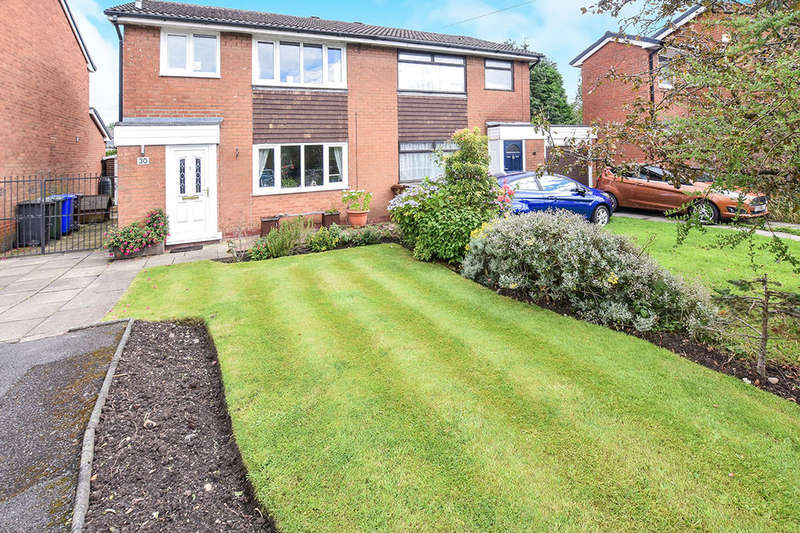 3 Bedrooms Semi Detached House for sale in Cross Field Drive, Radcliffe, Manchester, M26