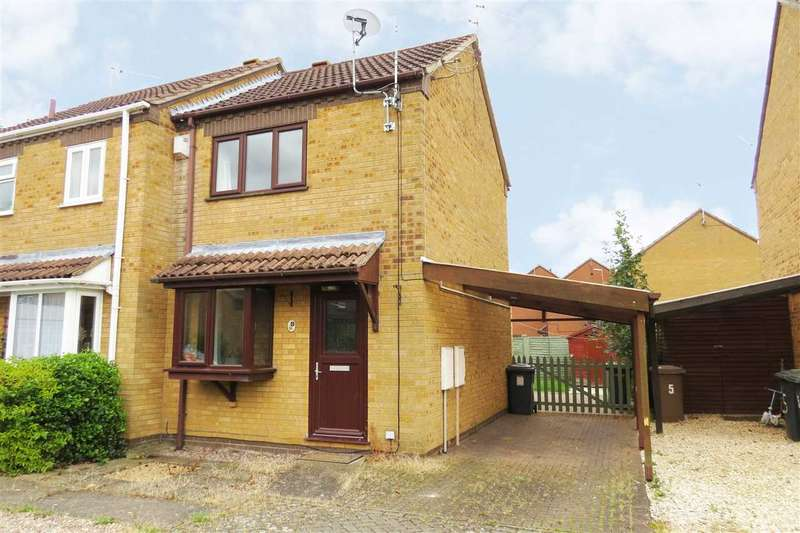 2 Bedrooms Semi Detached House for sale in Ashby Court, Sleaford
