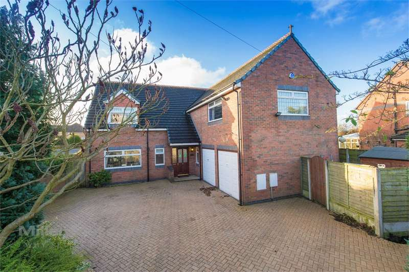 4 Bedrooms Detached House for sale in Mill Lane, Houghton Green, Warrington, WA2