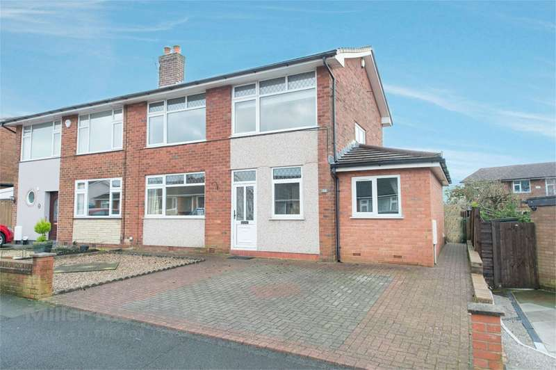 3 Bedrooms Semi Detached House for sale in New Heys Way, Bolton, BL2