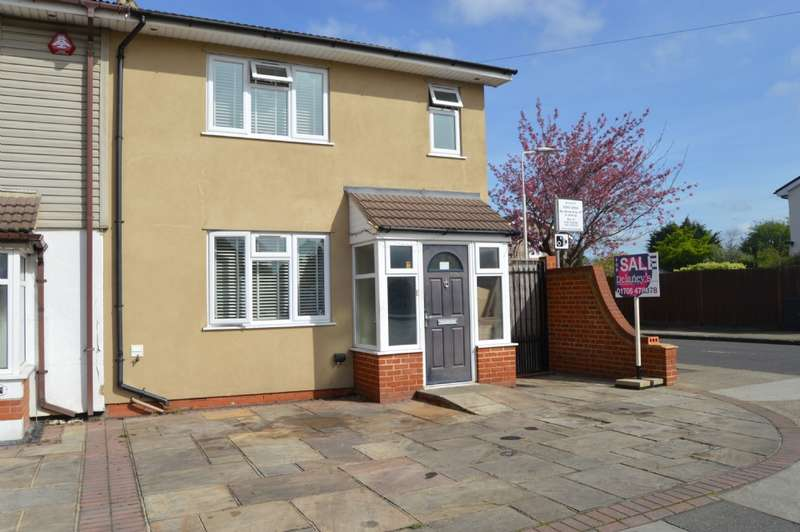 3 Bedrooms End Of Terrace House for sale in Chestnut Avenue, Hornchurch