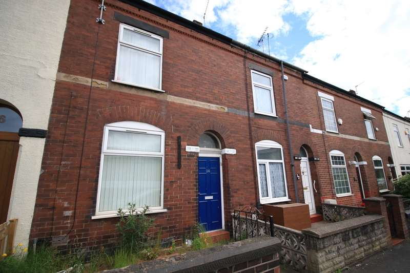 2 Bedrooms Terraced House for sale in Wellington Road, Swinton, Manchester, M27