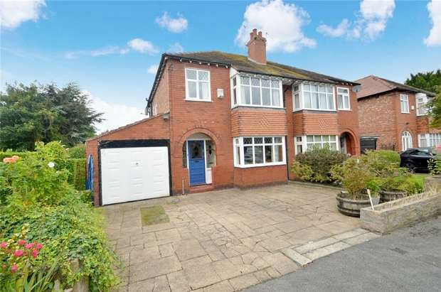 3 Bedrooms Semi Detached House for sale in Ashfield Grove, Davenport, Stockport, Cheshire