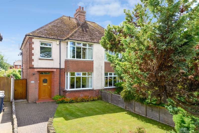3 Bedrooms Semi Detached House for sale in Hythe Road, Willesborough, Ashford, TN24