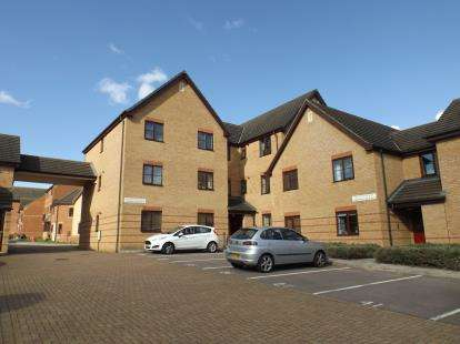 2 Bedrooms Flat for sale in Miserden Crescent, Westcroft, Milton Keynes
