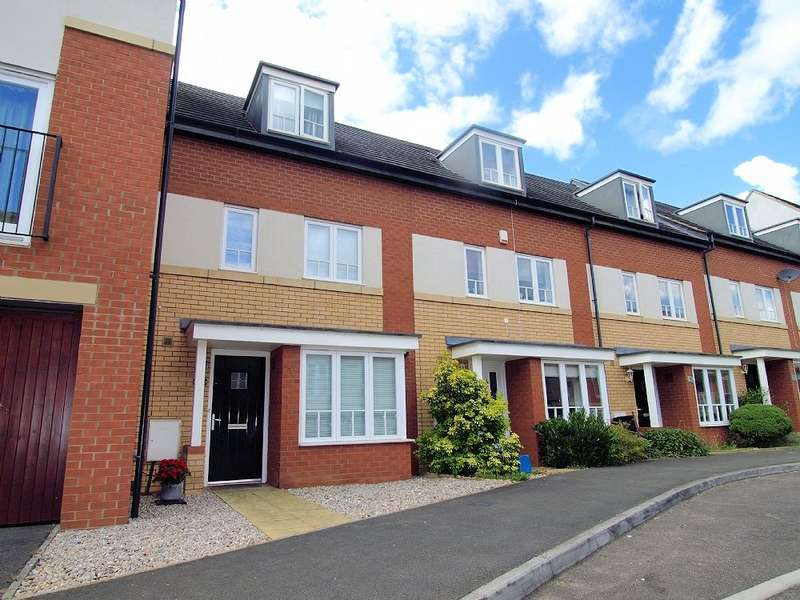 4 Bedrooms Town House for sale in Sakura Walk, Willen Park, Milton Keynes