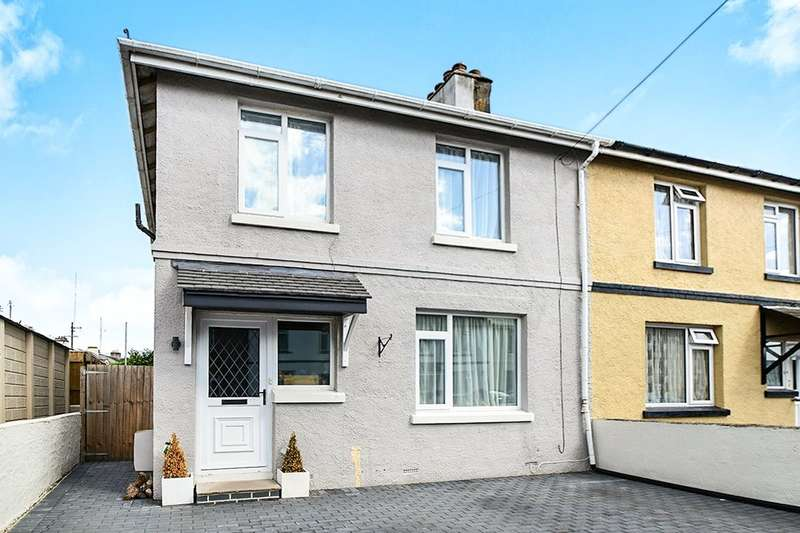 3 Bedrooms Semi Detached House for sale in Robers Road, Kingsteignton, Newton Abbot, TQ12