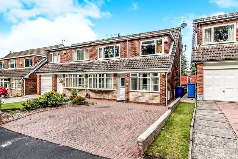3 Bedrooms Semi Detached House for sale in Withington Drive, Astley,Tyldesley, Manchester, M29