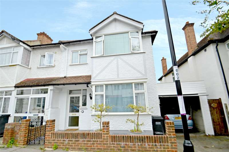 3 Bedrooms End Of Terrace House for sale in Camborne Road, Croydon