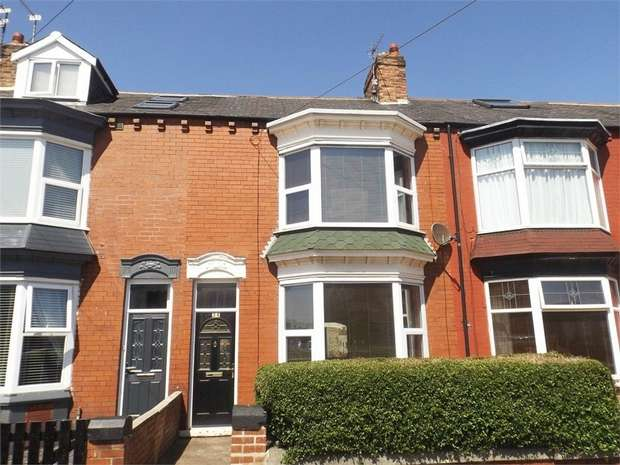 3 Bedrooms Terraced House for sale in Aske Road, Redcar, North Yorkshire