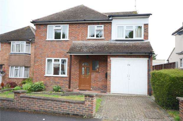 4 Bedrooms Detached House for sale in Highfield Gardens, Aldershot, Hampshire