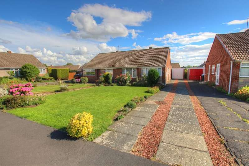 2 Bedrooms Semi Detached Bungalow for sale in Berkshire Close, Durham, DH1