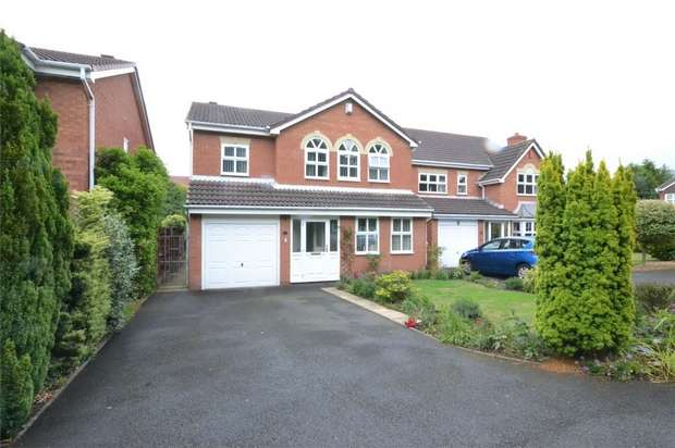 4 Bedrooms Detached House for sale in 25 Rembrandt Drive, Shawbirch, Telford, Shropshire