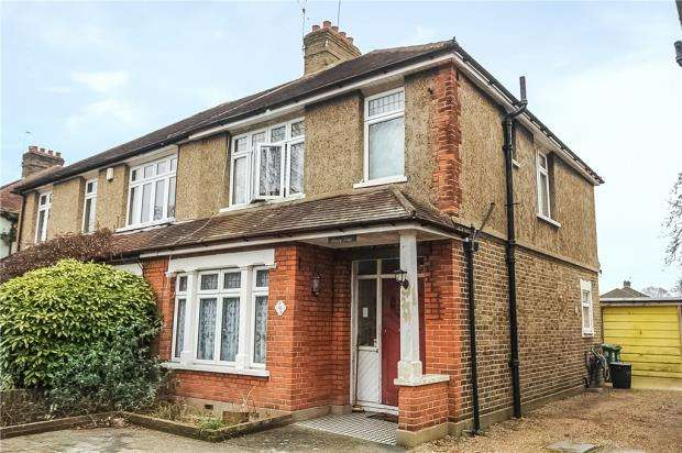 3 Bedrooms Semi Detached House for sale in Penton Road, Staines-upon-Thames, Surrey