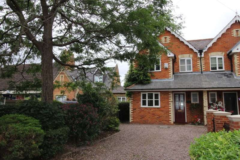 3 Bedrooms Semi Detached House for sale in Green Road, Thorpe, Egham, TW20