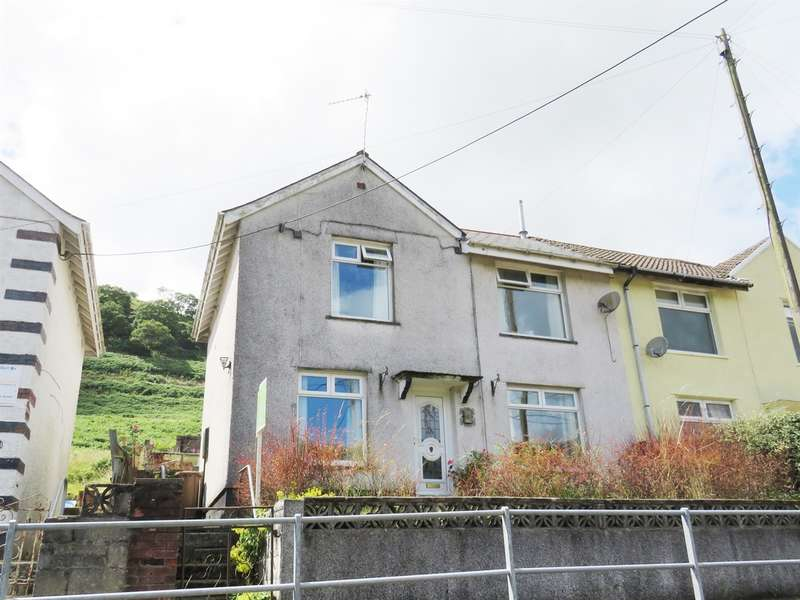 3 Bedrooms Semi Detached House for sale in Hillside Terrace, Deri, Bargoed