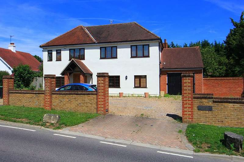5 Bedrooms Detached House for sale in Epping Road, Roydon, Harlow, Essex, CM19 5DW