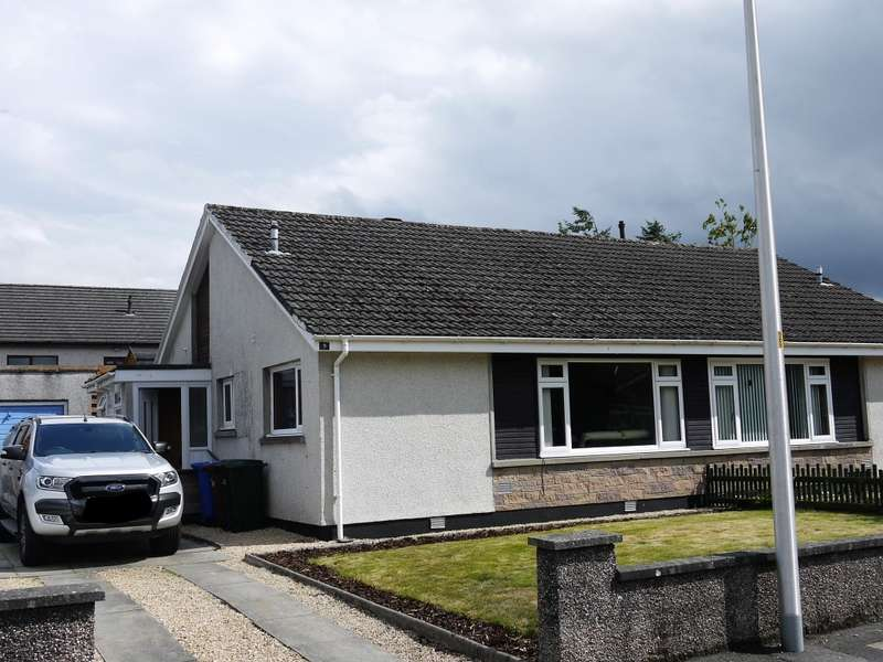 2 Bedrooms Semi Detached Bungalow for sale in 9 Drumdevan Road, Inverness, IV2 4BZ