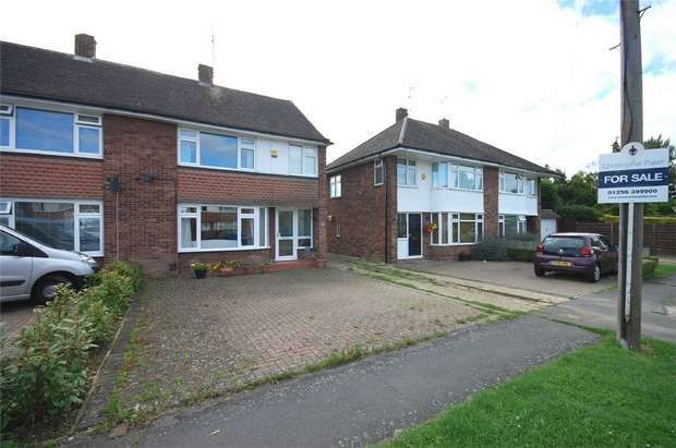 3 Bedrooms Semi Detached House for sale in Howard Avenue, Aylesbury, Buckinghamshire