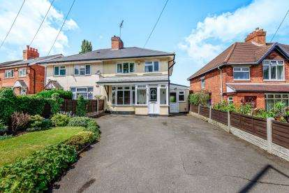 3 Bedrooms Semi Detached House for sale in Coalpool Lane, Walsall, West Midlands, .
