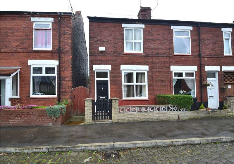 2 Bedrooms End Of Terrace House for sale in Gladstone Street, Great Moor, Stockport SK2 7QF