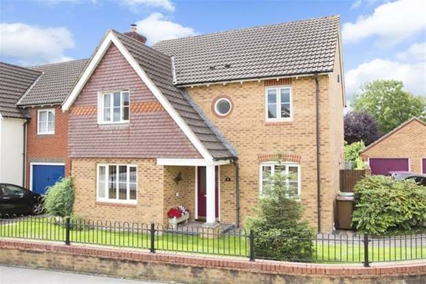 4 Bedrooms Detached House for sale in Wellow Drive, Frome