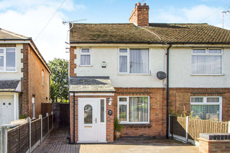 3 Bedrooms Semi Detached House for sale in Knightthorpe Road, Loughborough, LE11