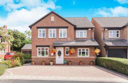 4 Bedrooms Detached House for sale in Stephenson Way, Honeybourne, Evesham, Worcestershire