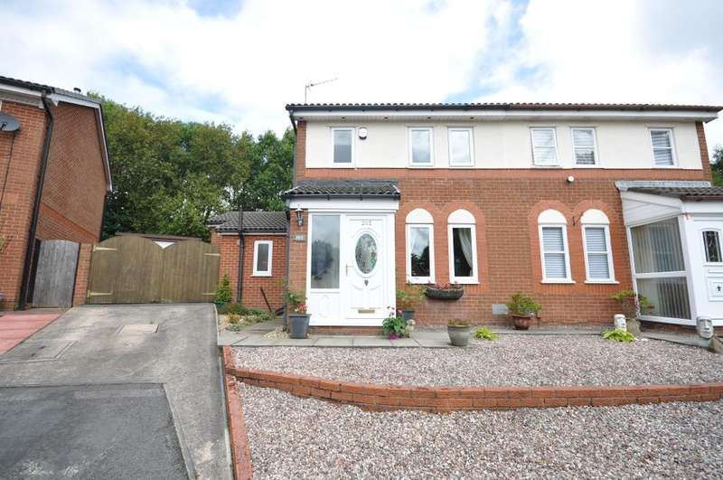 3 Bedrooms Semi Detached House for sale in Savick Way, Lea, Preston, Lancashire, PR2 1XF
