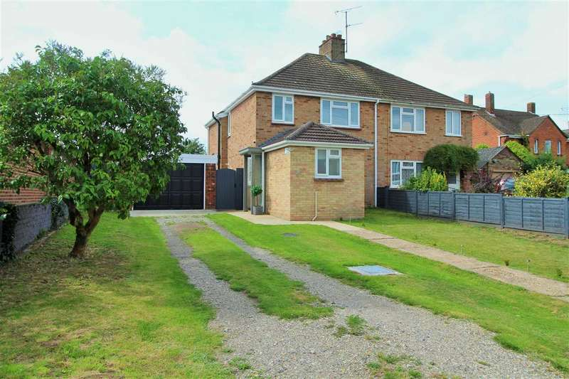 3 Bedrooms Semi Detached House for sale in D'Arcy Road, Colchester