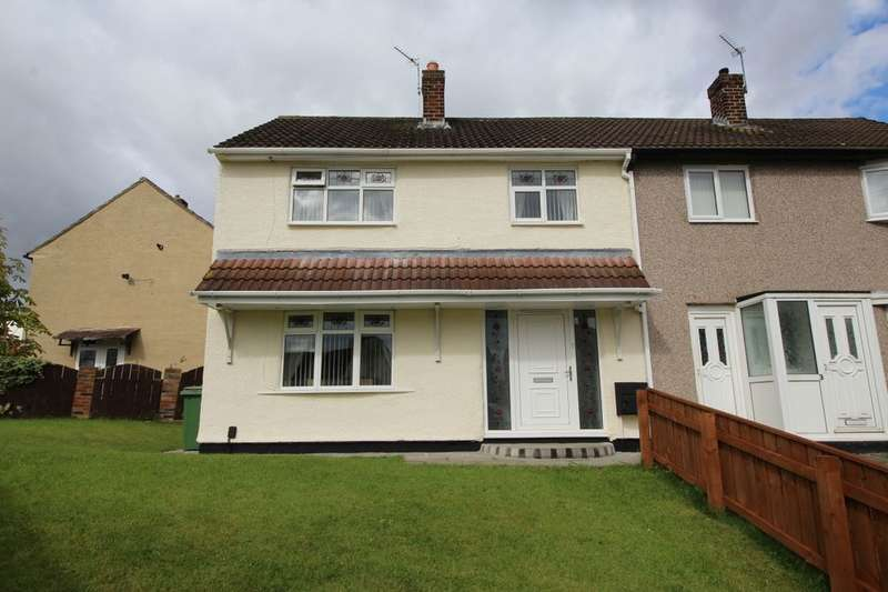 3 Bedrooms Semi Detached House for sale in Patterdale Avenue, Stockton-On-Tees, TS19