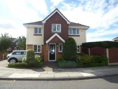 4 Bedrooms Detached House for sale in Aisthorpe Grove, Maghull, Liverpool, Merseyside, L31