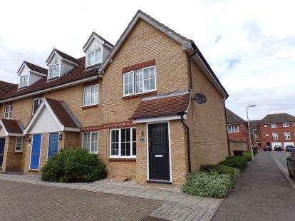 2 Bedrooms End Of Terrace House for sale in Dorsey Drive, Bedford, Bedfordshire