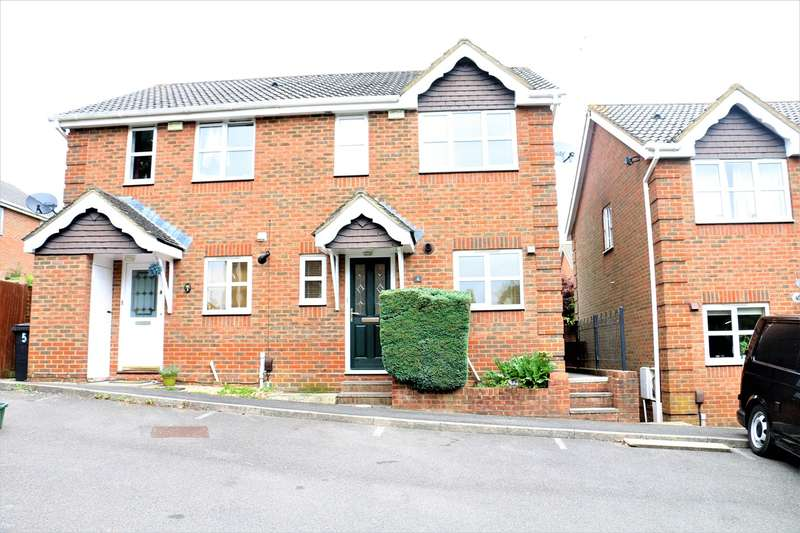 3 Bedrooms Semi Detached House for sale in Lime Gardens, Basingstoke, RG21