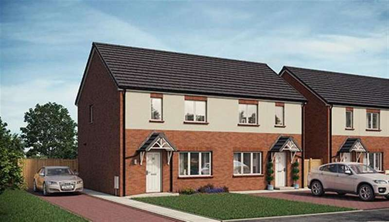 2 Bedrooms Semi Detached House for sale in Poplars Drive, Neath