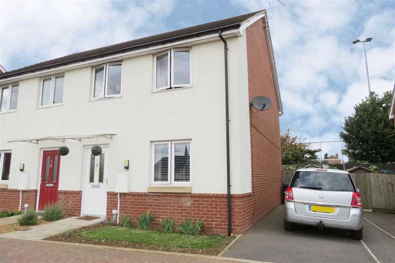 3 Bedrooms Semi Detached House for sale in Tamer Road, Sleaford