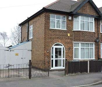 3 Bedrooms Semi Detached House for rent in Wynndale Drive, Sherwood, Nottingham, NG5 1HD