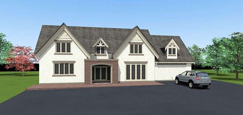 5 Bedrooms Detached House for sale in Plot 4, Shaw Park, Weston Lane, Oswestry, Shropshire, SY11 2BB