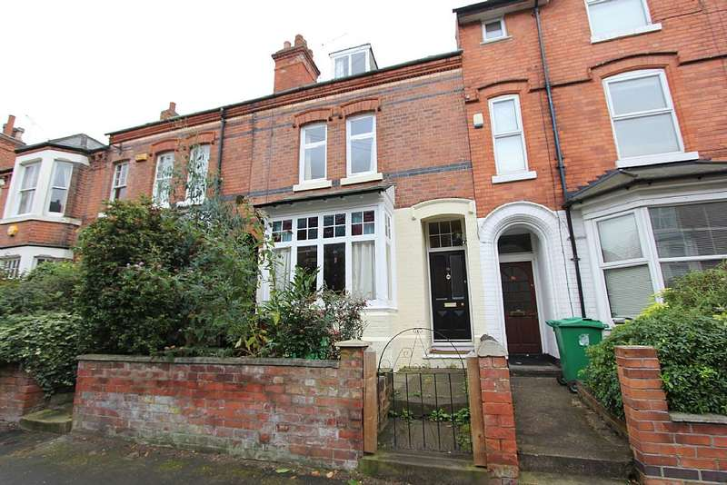 4 Bedrooms Terraced House for sale in Waldeck Road, Nottingham, Nottinghamshire, NG5 2AF