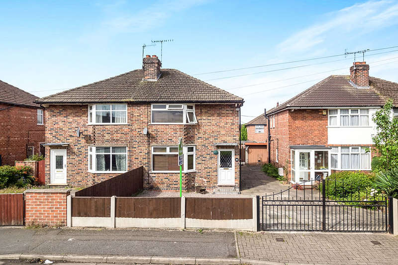 2 Bedrooms Semi Detached House for sale in Wesley Place, Stapleford, Nottingham, NG9