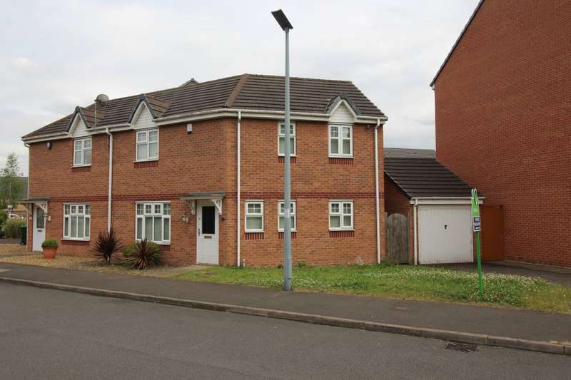 3 Bedrooms Semi Detached House for sale in Thunderbolt Way, Tipton, DY4