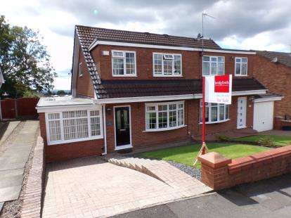 3 Bedrooms Semi Detached House for sale in Wordsworth Close, Dukinfield, Greater Manchester