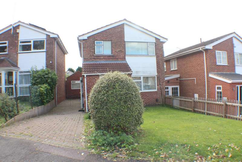 3 Bedrooms Detached House for sale in Colebrook Close, Leicester, LE5