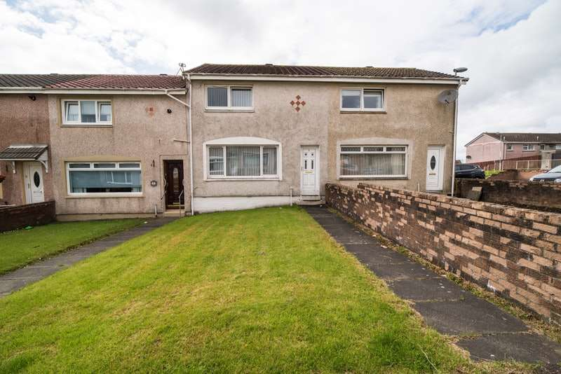 2 Bedrooms Terraced House for sale in Quarryside Street, Airdrie, Lanarkshire, ML6