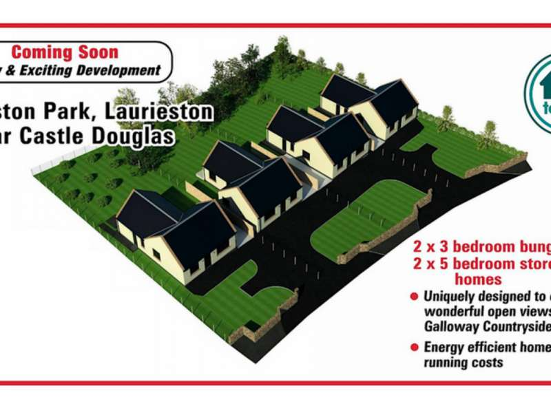 3 Bedrooms Detached Bungalow for sale in Laurieston Park Development , Laurieston, Castle Douglas, DG7 2PT