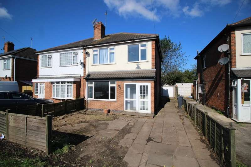 3 Bedrooms Semi Detached House for sale in Humberstone Lane, Leicester, LE4