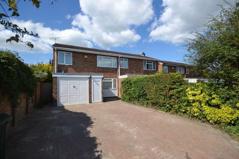 3 Bedrooms Semi Detached House for sale in Shakespear Close, Caversham Park