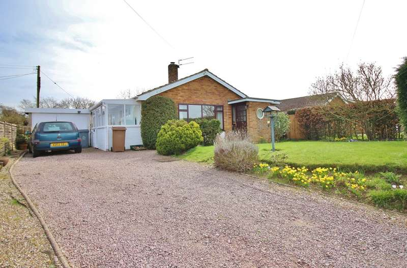 3 Bedrooms Detached Bungalow for sale in Burnt House Road, Cantley