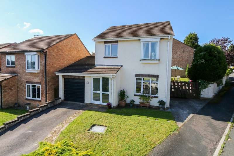 3 Bedrooms Detached House for sale in Burnley Close, Newton Abbot